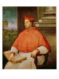 Portrait of Cardinal A. Pallavicini, 1512 Giclee Print by Sebastiano del Piombo