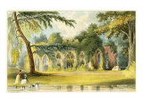 The Ruins, Frogmore, 1828 Giclee Print by John Gendall