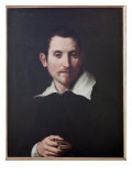 Self Portrait, C.1615 Giclee Print by  Domenichino