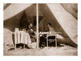 The Last Interview Between President Lincoln and General Mcclellan at Antietam, 1862 Giclee Print by Mathew Brady & Studio