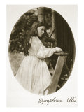 Dymphna Ellis, 25th July 1869 Giclee Print by Charles Lutwidge Dodgson
