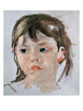 Head of a Young Girl Giclee Print by Mary Cassatt