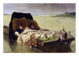 The Enerves de Jumieges, 1880 Giclee Print by Evariste Vital Luminais