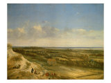 View of Haarlem from the Dunes Giclée-Druck von Jan van der Meer