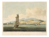 View of Santa Cruz, Plate 3 from 'A Voyage to Cochinchina' by John Barrow Giclee Print by William Alexander