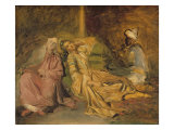 Study for the Interior of a Harem Giclee Print by Theodore Chasseriau