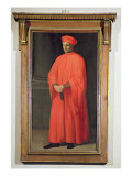 Portrait of Francesco Datini Giclee Print by Alessandro Allori