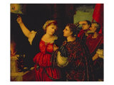 Augustus and the Tiburtine Sibyl Giclee Print by Bonafacio Veronese
