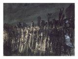 Breakwater in Jersey Giclee Print by Victor Hugo