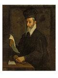 Portrait of Torquato Tasso Giclee Print by Bartolomeo Passarotti