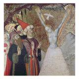 Martyrdom of St. Eulalia Giclee Print by Bernardo Martorell
