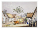 A Village of German Settlers near Adelaide, 1846 Giclee Print by George French Angas