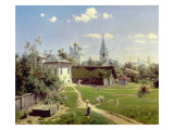 A Small Yard in Moscow, 1878 Giclee Print by Vasilij Dmitrievich Polenov