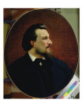 Portrait of Nikolay Leskov, 1872 Giclee Print by Anatoly Lelakow