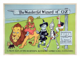 The Wonderful Wizard of Oz and Father Goose, C.1900 Giclee Print by William W. Denslow