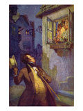 Viennese Postcard Depicting Franz Peter Schubert Giclee Print by Adolf Karpellus