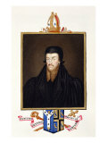 Portrait of Edmund Grindal Giclee Print by Sarah Countess Of Essex