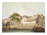 Part of City of Patna, on River Ganges, from 'Oriental Scenery: Twenty Four Views in Hindoostan' Giclee Print by Thomas Daniell
