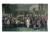 Peninsular Heroes at the United Services Club Giclee Print by John Prescott Knight