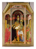 The Presentation in the Temple Giclee Print by Also Manfredi De Battilori Bartolo Di Fredi