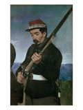 Non Commissoned Officer Holding his Rifle Giclee Print by Édouard Manet