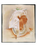 Head of Queen Makare Hatshepsut Giclee Print by Howard Carter