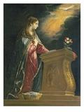 Annunciation Giclee Print by Lucrina Fetti