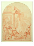 Alexander and Thais on their Drunken Rampage through Persepolis Giclee Print by Vittorio Maria Bigari