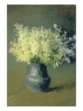 Wild Lilacs and Forget-Me-Nots, 1889 Giclee Print by Isaak Ilyich Levitan