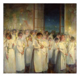 Palm Sunday, 1900 Giclee Print by Serafima Nasonovna Blonskaya