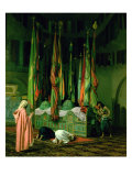 The Shrine of Imam Hussein Giclee Print by Jean Leon Gerome