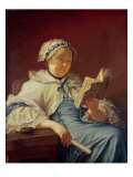 The Artist's Wife, 1758 Giclee Print by Donat Nonotte