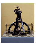The First Diesel Engine Giclee Print by Rudolf Diesel