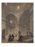 Chapel of St. Ignatius of Loyola, Chiesa Del Gesu, Illustration from Album 'Rome Dans Sa Grandeur' Giclee Print by Felix Benoist