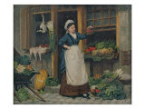 The Fruit Seller Giclee Print by Victor Gabriel Gilbert