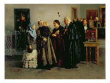 Verdict, 'Not Guilty', 1882 Giclee Print by Vladimir Egorovic Makovsky