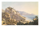 View of the Crimean Coast near Oreanda, 1834 Giclee Print by Nikanor Grigor'evich Chernetsov