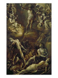 The Resurrection of Christ, 1603 Gicle-tryk af Giovanni Baglione