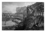 View of the Interior of the Coliseum, from 'Le Antichita Romane de G.B. Piranesi' Giclee Print by Giovanni Battista Piranesi