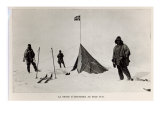 Tent Left at the South Pole by Roald Amundsen Giclee Print by Lieutenant Henry Robertson Bowers