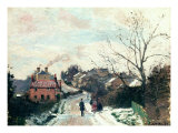 Fox Hill, Upper Norwood, 1870 Reproduction procédé giclée par Camille Pissarro