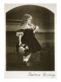 Beatrice Henley, September 1862 Giclee Print by Charles Lutwidge Dodgson