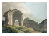 The Ruins of the Palace at Madurai, 1798 Giclee Print by Thomas Daniell