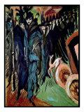 Friedrichstrasse, 1914 Giclee Print by Ernst Ludwig Kirchner