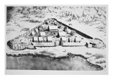 Jamestown, Virgina, 1607, Giclee Print