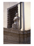 Figure on Courtyard Screen Giclee Print by Tullio Lombardo
