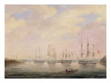 View of Port Adelaide, South Australia Giclee Print by Colonel William Light