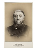 Paul Kruger, President of the Transvaal Republic Giclee Print by Elliott & Fry Studio