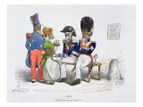 Who do you take me for', Caricature from 'Les Metamorphoses du Jour' Series, 1854 Giclee Print by  Grandville