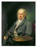 Francisco Jose de Goya, 1826 Giclee Print by Vicente Lopez y Portana